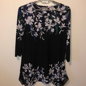 Women's JM collection tunic top/dress Thin Large